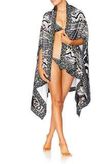 Camilla Tribal Theory Swim Poncho