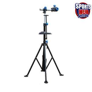 🚚 Bike Repair Work Stand With Bonus Tool Tray For Home Bicycle Mechanic Quick Release