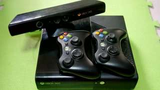 Xbox 360, w/ 2 Controllers & Kinect *Price Negotiable*