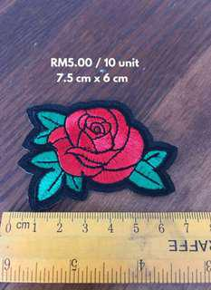 🔴 PATCHES • RM5.00/10 units