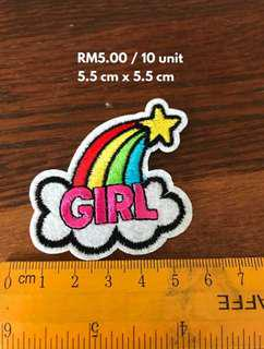 🔴 PATCHES - RM5.00/10 units