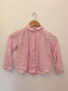 Kemeja Anak Rayon Uniqlo (Pink)