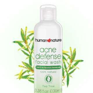 Acne Defense Facial Wash 100ml