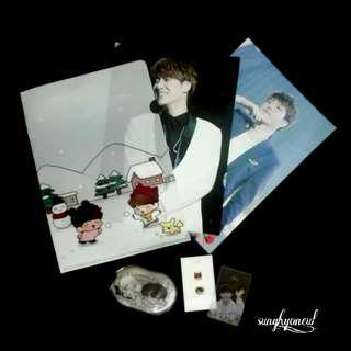 [FULL SET] Sungkyu Woohyun Fansite Goods Set