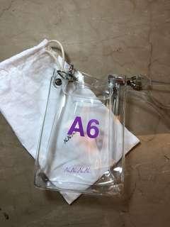 nananana a6 透明pvc果凍包 正品現貨