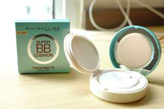 NEW BB cushion maybelline (light beige) segel masih rapet