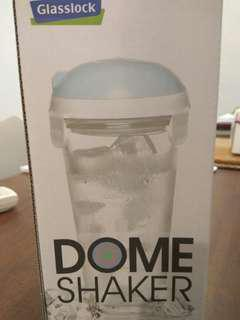 Dome Shaker Glass Bottle/Container (Candy Pink)
