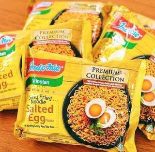 Ready stock - Indomie salted egg (5pcs)