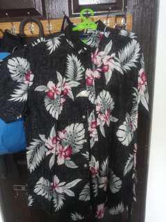 American Rag Floral Button down Shirt