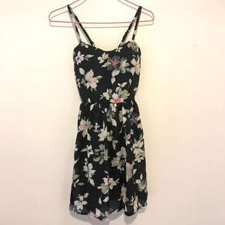 New SIZE S ABERCROMBIE & FITCH FLORAL MINI DRESS