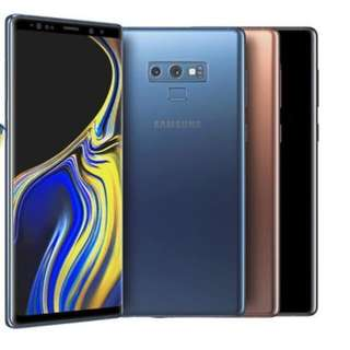 Buying All Brand New Samsung Note 9