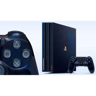 PO PS4 Pro 500 Million Limited Edition