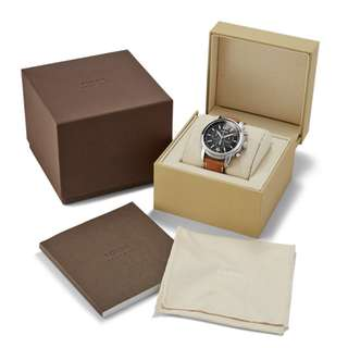 🚚 [Clearance] Fossil FSW7005 Swiss Made Chronograph Leather Watch
