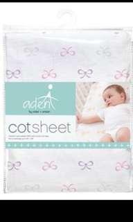Anais aden Lavender cot sheet