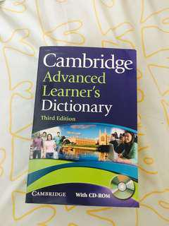 Cambridge Advanced Learner Dictionary
