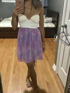Saboskirt Lilac Cloud Tea Dress