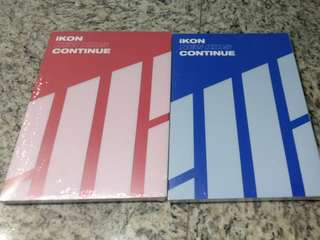 [INSTOCK] IKON NEW KIDS CONTINUE