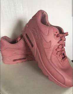 Genuine Nike pink leather air max's