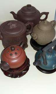Old Zisha Teapots