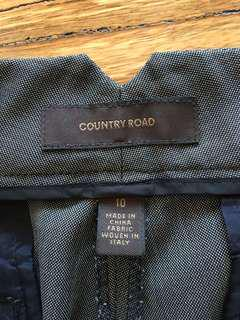 Country Rd work pants silk/wool