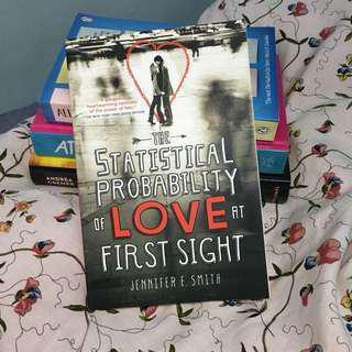 The statistical probability of love at first sight jennifer e smith