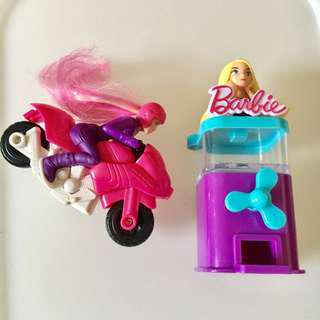 Set 2 x Barbie figures