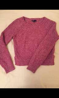 Gap pink knit jumper/ sweater