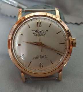 Near NOS vintage sivervatch watch