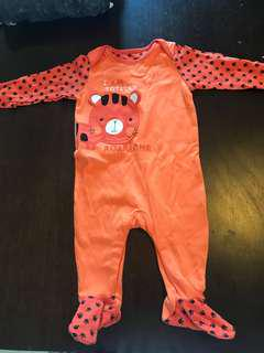 Sleep suit for 9-12 months