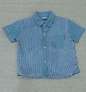 Crib Couture Short Sleeves Button Down Polo 12m