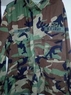 Orig US Army camo top