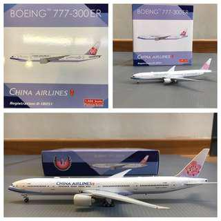 China airlines Boeing 777-300ER (Phoenix models)