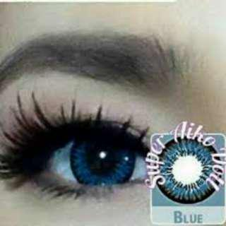 on hand contact lens by elite