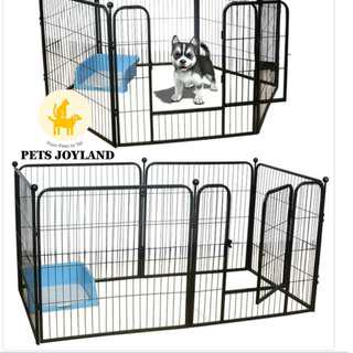 [FREE DELIVERY] L Dog Safety Playpen/Gate/Fence Set