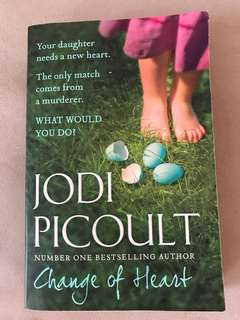 "Books Jodi Picoult ""Change of heart"""
