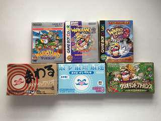 Wario Collection Gameboy Cartridge