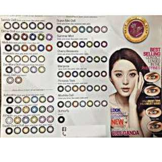 Elite and Sparkle contact lens