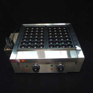 Electric powered Commercial Takoyaki Machine - Brand new