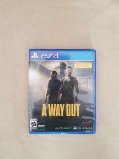 Game PS4 A Way Out