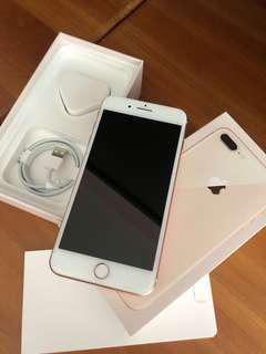 iphone 8 plus GOLD(used for 1 mth) w/o ear piece