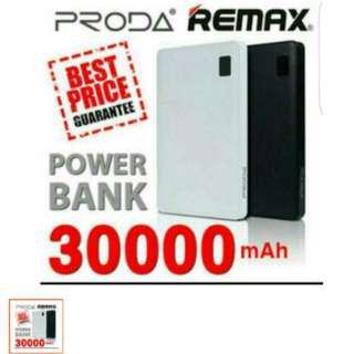 REMAX PRODA Note 30000mah Powerbank with 4 charging Port