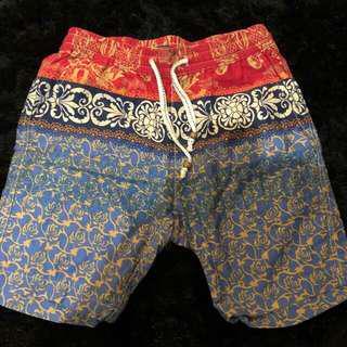 F21 Printed Shorts