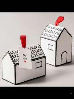 Schoolhouse cookie box