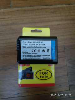 Sony NP-FW50 compatible batteries