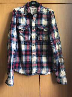 Abercrombie and fitch anf checked shirt