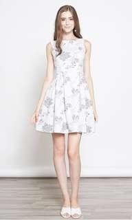 Intoxiquette Label Every Woman's Dream Dress in White Florals