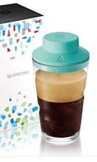 Nespresso coffee shaker