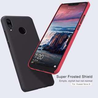 🚚 Nillkin Frosted Shield Hard Case for Huawei Nova 3i (Black)