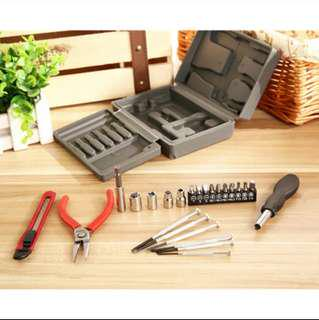 Professional Home-hardware Socket Wrench Screwdriver Combination toolbox Hand Tool