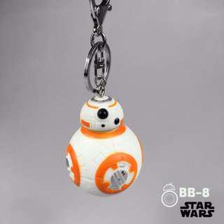 Star Wars BB8, batman, Millennium Falcon keychain for bag and stroller #MAF40
